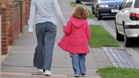 Children in care 'housed far from home'