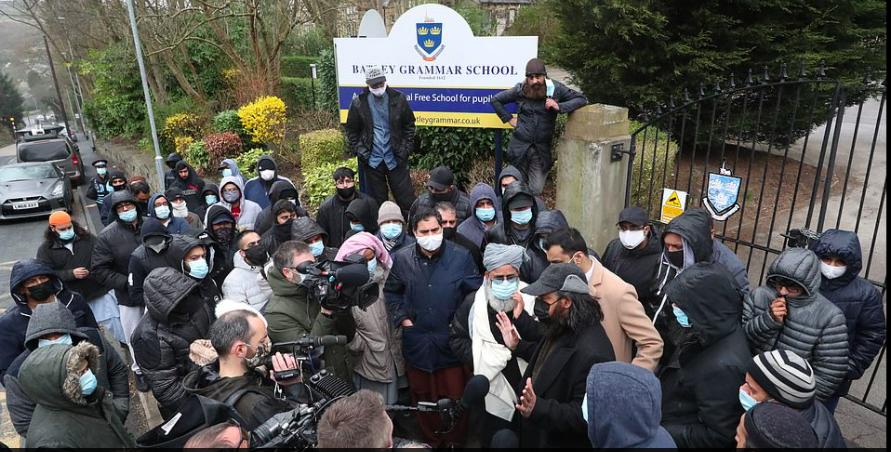 muslim extremists anti UK